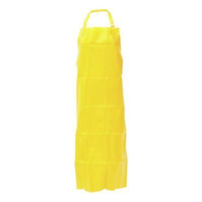 Endurosaf Vinyl Apron Adjustable Neck Strap Yellow 35w X 45l 56385