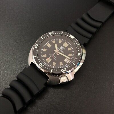 "STEELDIVE SD1970 200M Automatic ""Turtle"" Homage Diver Watch NH35 Movement"