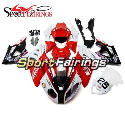 Body Kit Fittings For BMW S1000RR 2011-2014 Injection ABS Red White Panels Hulls