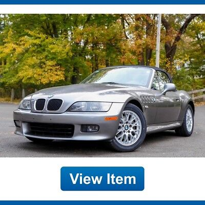 2002 BMW Z3 Roadster Auto Convertible Super Low 32K mi CARFAX Serviced!