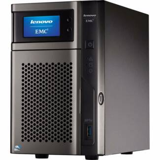 Lenovo/EMC Network Attached Storage NAS. Media, CCTV, iSCSI