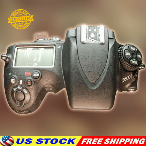 Nikon D800 Top Cover Assembly With Flash and LCD Replacement Part