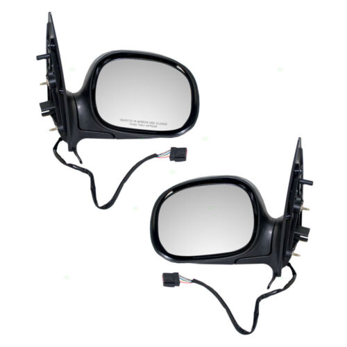 Door Power Mirror fits 1997-2002 Ford Expedition Driver Side Heated F85Z17683HAB