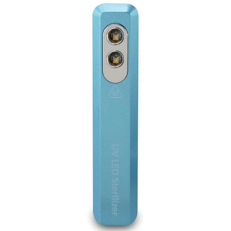 Dpi Iaa400Bu Portable Uv-C Light Sterilizer 2 Germicidal Led Lamps Blue