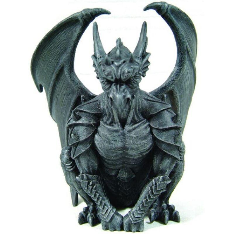 Sitting Guardian Gargoyle Gothic Figurine