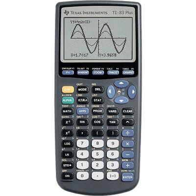 Texas Instruments TI-83 Plus Graphing Calculator - Brand New - Free Shipping