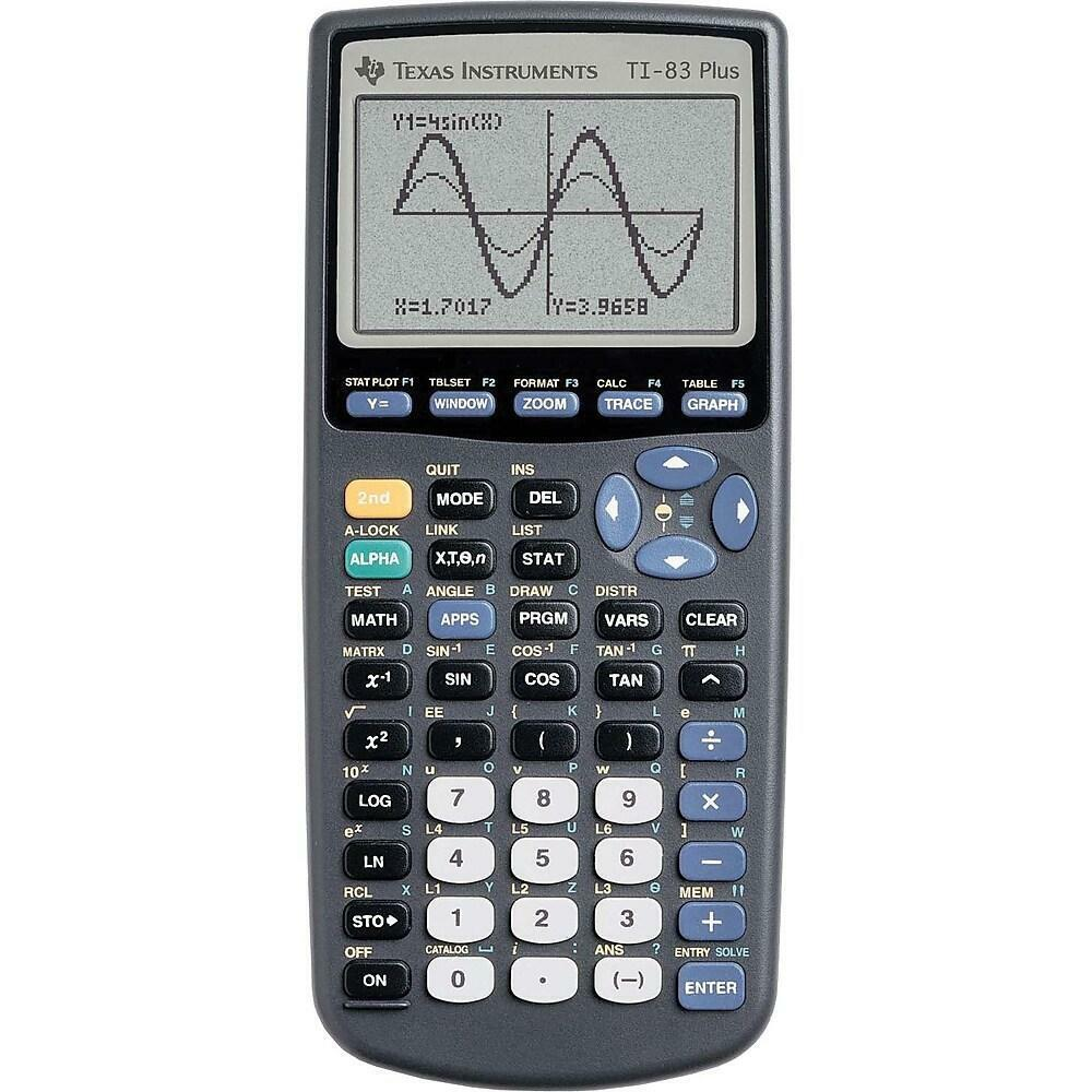 Texas Instruments TI-83 Plus Graphing Calculator - Brand New