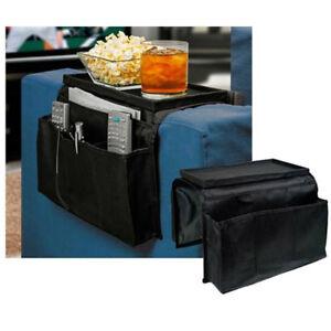 Armrest table ebay 6 pocket sofa arm rest organizer caddy couch buddy remote control holder table watchthetrailerfo
