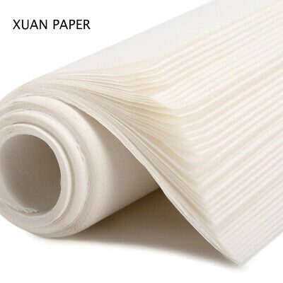 50pcs Chinese Calligraphy Brush Ink Writing Sumi Paper/Xuan Paper/Rice Paper -
