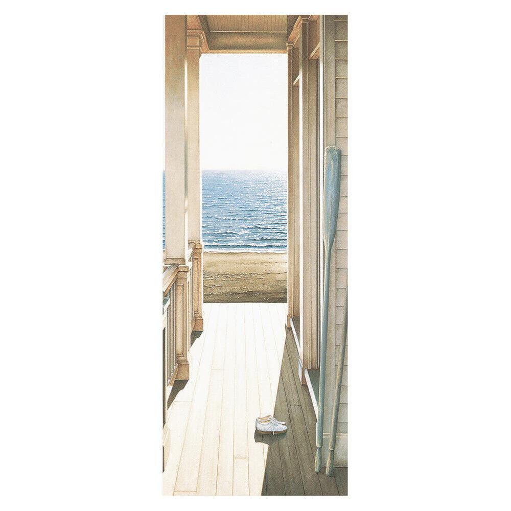 Home Decoration - 3D Art Door Wall Fridge Sticker Decal Self Adhesive Mural Scenery Home Decor UK