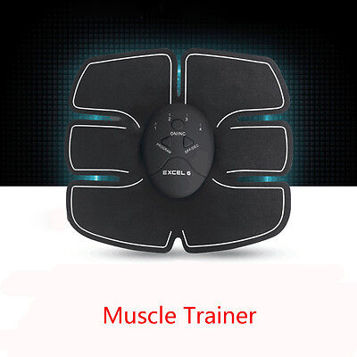 EMS Remote Control Abdominal Muscle Trainer Smart Body Building Fitness Abs B2