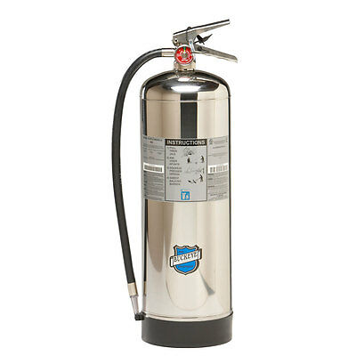 New Buckeye Water 2.5 Gallon Fire Extinguisher With Carrying Strap