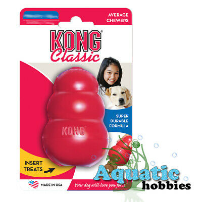 Kong Classic Treat Release Dispensing Rubber Chew Toy For Dog Puppy Choose Size - Dog Chew Toy