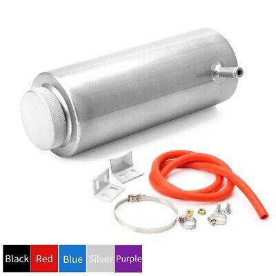 800ml Aluminium Water Expansion Tank Bottle Header Coolant Overflow Radiator Can
