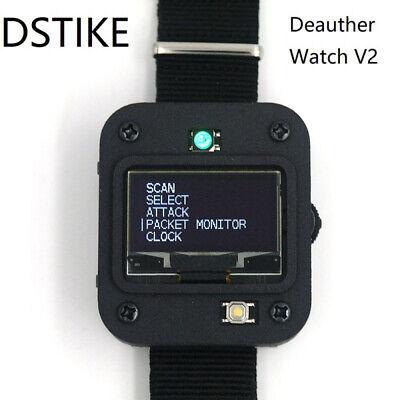 DSTIKE Deauther Watch V2 Programmable Board Smart Watch DevKit NodeMCU Wristband
