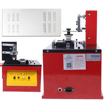 55w Electric Pad Printer Automatic Printing Operation Machine 6060mm Sealer Us