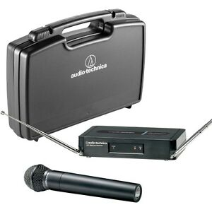 audio technica wireless microphone ebay. Black Bedroom Furniture Sets. Home Design Ideas