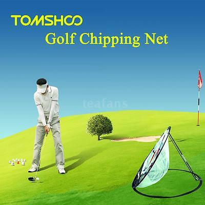 20 inch Golf Training Chipping Net Hitting Aid Practice Indoor Outdoor Bag A
