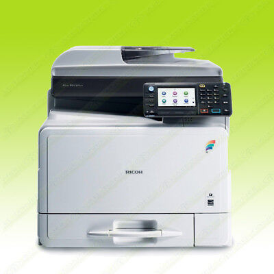 Ricoh Aficio Mp C305spf Color Laser Copier Printer Scanner Letter 30ppm