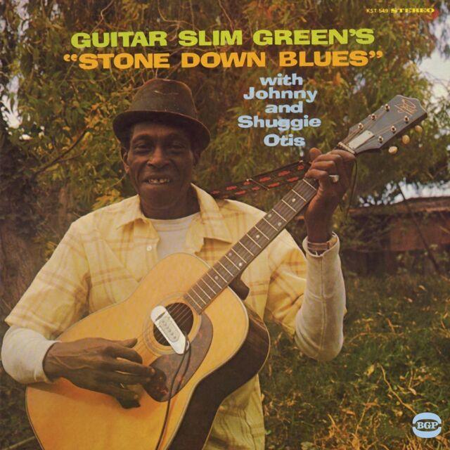 Guitar Slim Green With Johnny And Shuggie Otis - Stone Down Blues (CDBGPM 287)