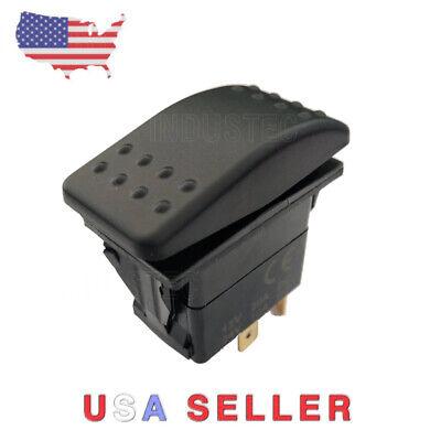 DC Momentary Motor polarity - reverse reversing Rocker switch control DPDT 12v  Reverse Polarity Connector