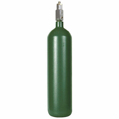 Medical D Reconditioned Steel Oxygen Cylinder 14 Cuft - Dot 3aa Stamped Cga870