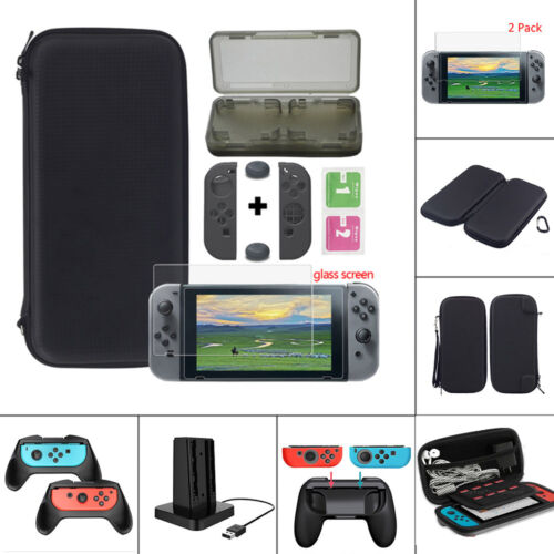 For Nintendo Switch Carrying Bag Case/Glass Film/Controller