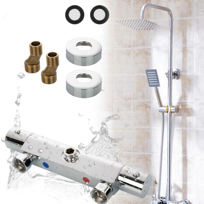 Brausethermostat Dusch Bad Armatur Thermostat Dusche Mischbatterie Messing