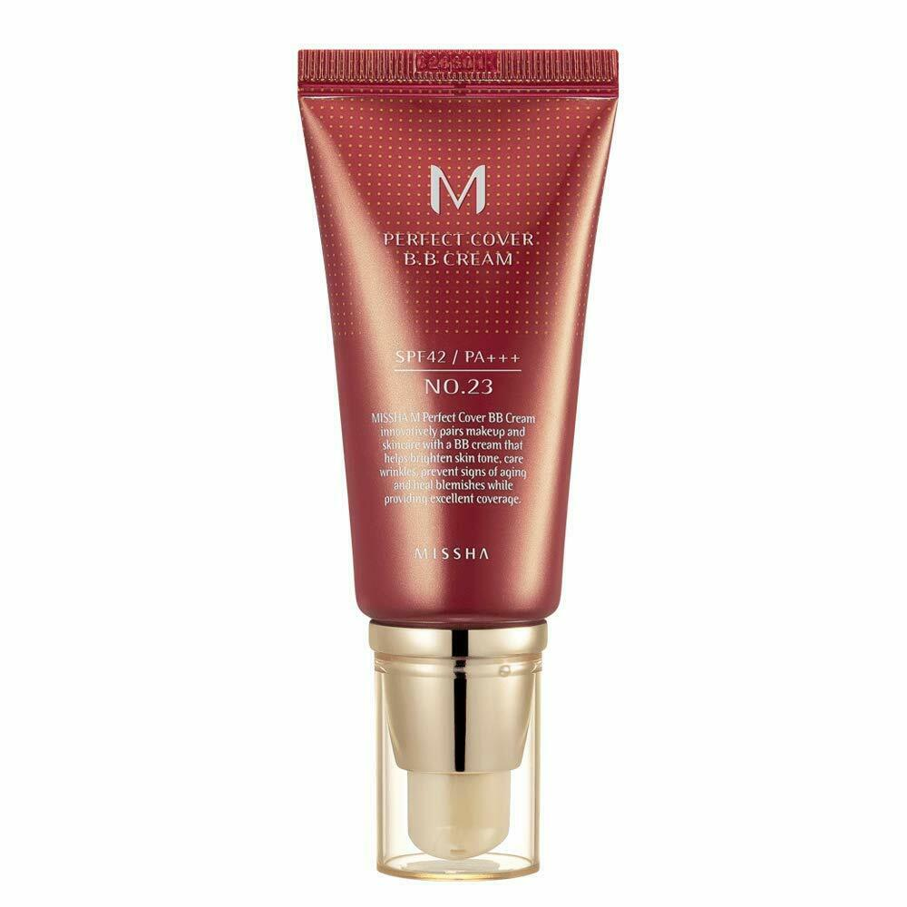 Missha M Perfect Cover B.B. Cream SPF 42 PA+++ 23 Natural Be