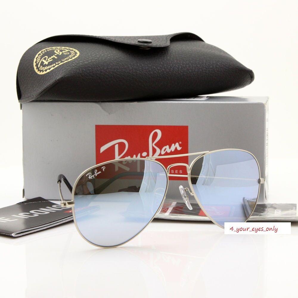 Ray-Ban® RB3025 58 Aviator Large Sunglasses