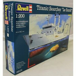 Revell 1:200 05131 Titanic Searcher Le Suroît Model Ship Kit