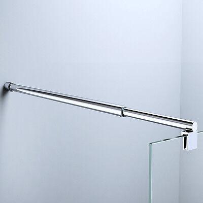 Stabilisator Glaswand Haltestange Duschabtrennung Dusche Duschkabine Edelstahl