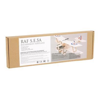 Best Royal Aircraft Factory SE5a Balsa Wood 378mm Wingspan Biplane Airplane (Best 5 Wood)