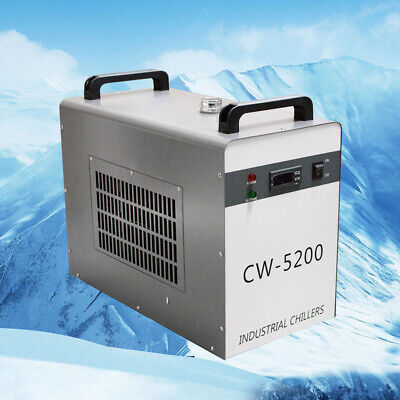 110v Industrial Water Chiller Cw-5200dg 6l Tank For Co2 Laser Tube