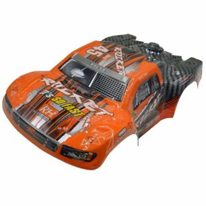 REMO D2602 Orange Short Course Body Shell for REMO 1/16 Scale 1621 RC Truck