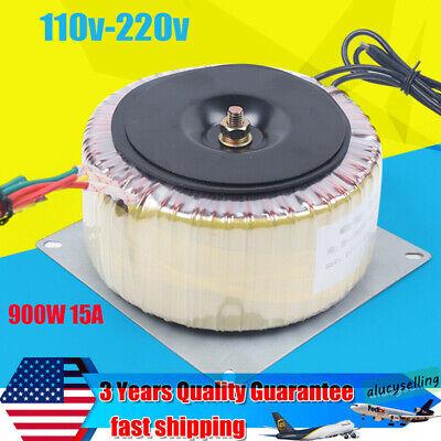 Power 900w 15a Industrial Toroidal Transformer Input Ac110v-ac220v Output Ac60v