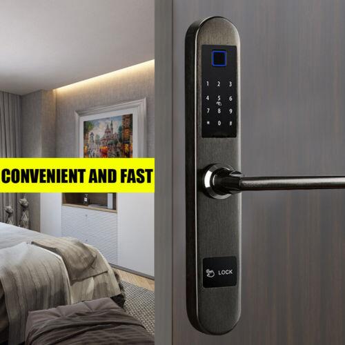Security Electronic Smart Door Lock Screen Touch Password IC