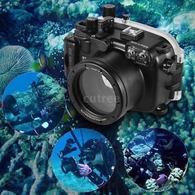 MEIKON DSLR Kamera Wasserdichte Gehäuse Gehäuse Deckel für Canon G7X Mark II ()