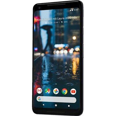 Google Pixel 2 XL 128GB black Android Smartphone Handy ohne Vertrag Octa-Core 4G