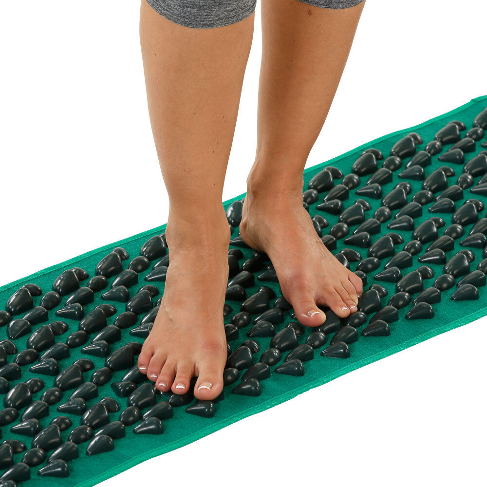 Fußreflexzonenmatte Kieselsteine Reflexzonenmassage Fußreflexzonen Fußmassage
