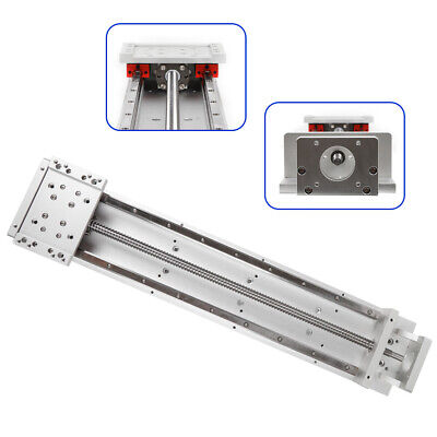 Cross Sliding Table Linear Module Stage Rail Ballscrew Z-axis Motorized Slider S