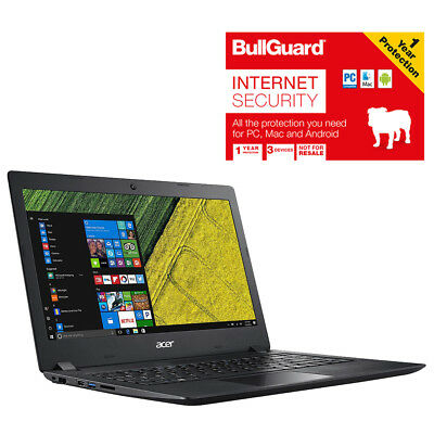 "Image of Acer Aspire 1 A114-31-p3gk Laptop 14"" 4gb 64gb With Bullguard Internet Security"