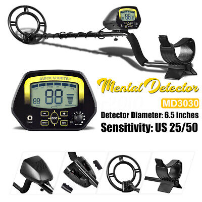 Lcd Display Metal Detector Md3030 Treasure Hunter Gold Finder Digger Underground