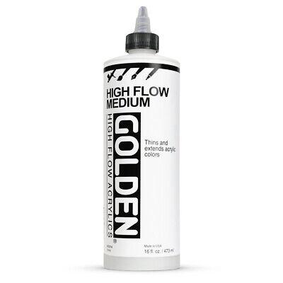 - Golden Airbrush Medium - 16 oz, Transparent Extender