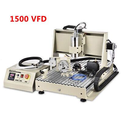 Usb 4axis 6040 Gravingmill Engraver Machine 3d Cutter Cnc Router Drilling Vfd 1