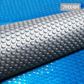 Solar Swimming Pool Cover Bubble Blanket 400 Micron 7M x 4M Iso