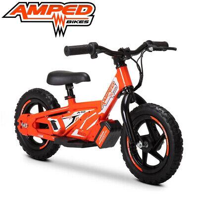 Amped A10 Eléctrico Niños Balance Bicicletas Batería 18v 5.2ah 100w - Naranja