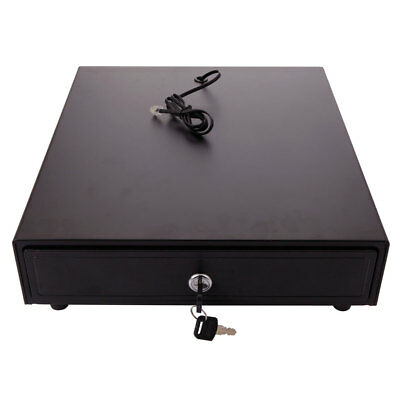 New Cash Drawer Box Works Compatible Epsonstar Pos Printers 4bill 5coin Dc 12v