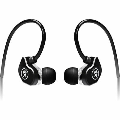 Mackie CR-Buds+ In-Ear Headphones with In-Line Mic & Remote Black New for sale  Shipping to India