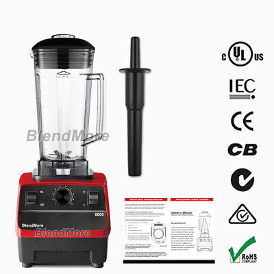 "1 DAY Trafficking- BlendMore 6000 Premium Blender-3HP-2200W-64 oz-w/ ""Vitamix Cookbook"""
